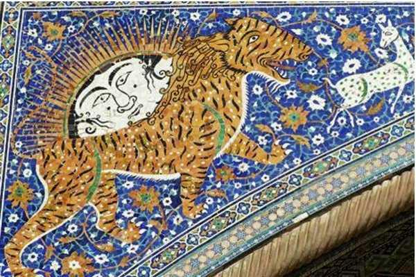 изображение в мечете