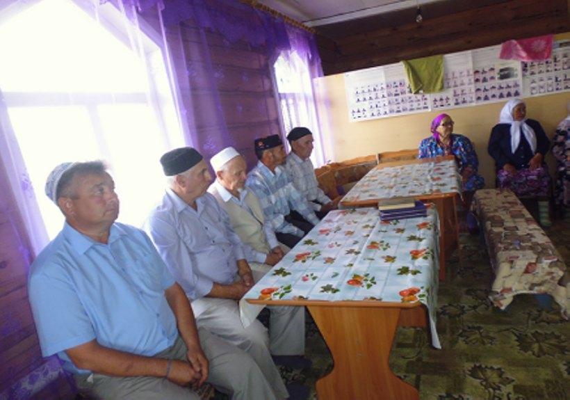 мусульмане деревни Таштимерово