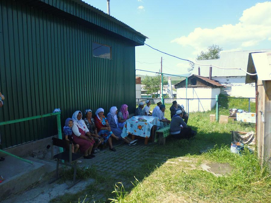 Мусульманки деревни Тупаково