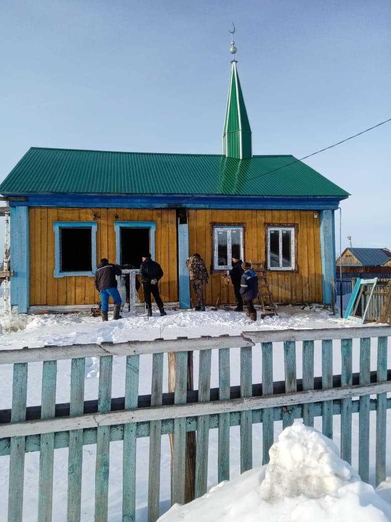 Йәлембәт ауылы мәсете