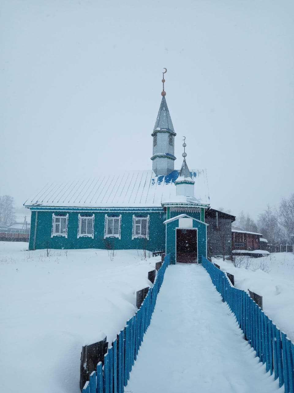 Салауат һәм Ҡужан ауылы мәсете